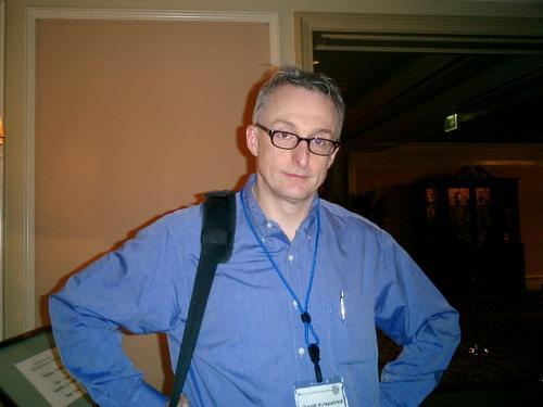 David Kirkpatrick, the man behind Brainstorm