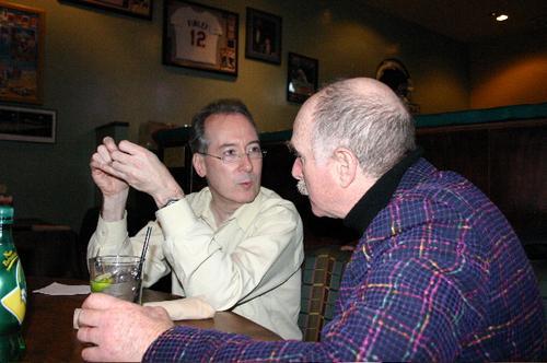 Dan Gillmor and Howard Rheingold
