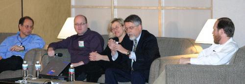 Political blogging panel