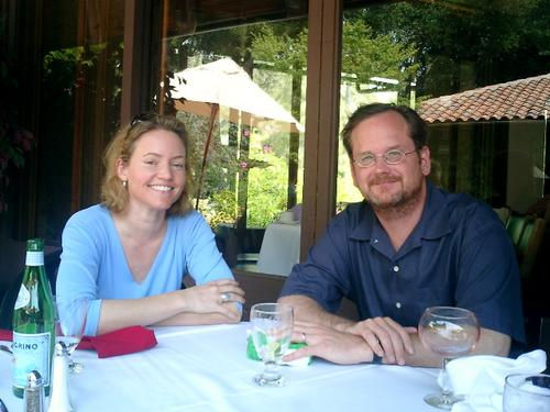 Kim Polese and Larry Lessig